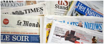 Krantenarchief van de bibliotheek